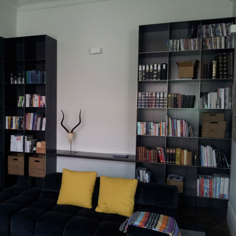 Shelving other wall